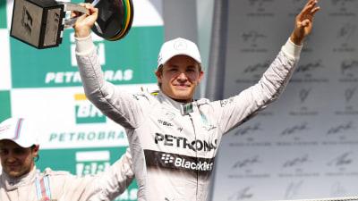 2014 Brazilian F1 GP: Rosberg Narrows Hamilton Gap With Interlagos Victory