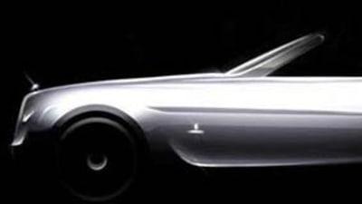 Coachbuilt heaven: Pininfarina to create bespoke Rolls convertible