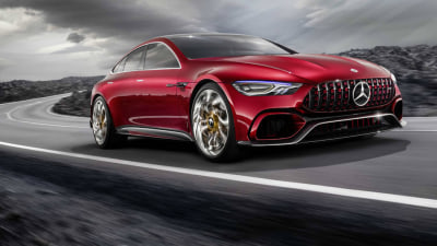 2017 Mercedes-AMG GT Concept Revealed - Geneva Motor Show