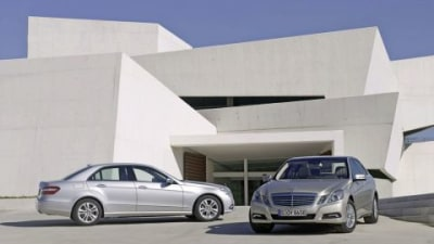 2010 Mercedes E-Class Unveiled In Detroit