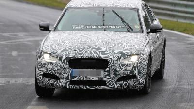 2016 Jaguar XF Spied Testing