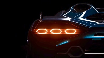Lamborghini teases first hybrid roadster ahead of reveal