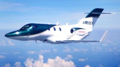HondaJet Makes First Production Flight