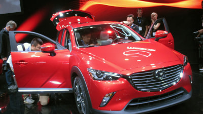 SkyActiv Rules! New CX-3: No Hybrid, But Potential Sports Model