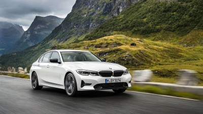 BMW 3-Series international preview drive