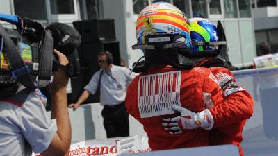 F1: Ferrari 'Comfortable' With Exhaust Clampdown - Hamilton