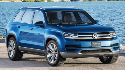 Teramont Out - Atlas In For Volkswagen's Large SUV
