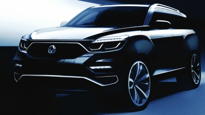 SsangYong Teases All-New Large SUV Ahead Of Seoul Motor Show