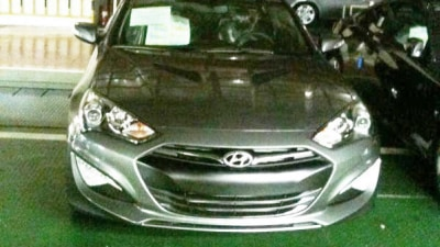 2013 Hyundai Genesis Coupe Update Spied