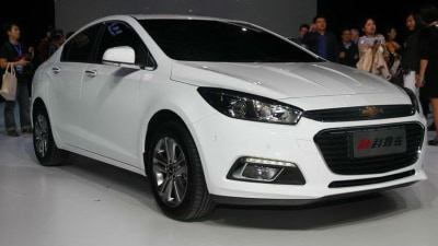 2015 Chevrolet Cruze Unveiled In Chinese Trim At Beijing Auto Show