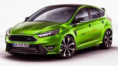 2015 Ford Focus RS CONFIRMED