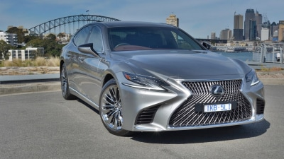 Lexus LS500 2018 new car review