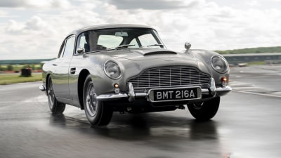 Video: Aston Martin rebuilds James Bond's DB5, with 'guns' and gadgets