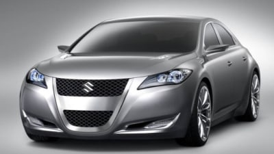 Suzuki Kizashi Confirmed For 2010 Australian Launch