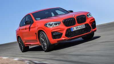 BMW unveils new X3M and X4M