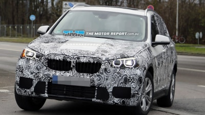2016 BMW X1 Spied Testing