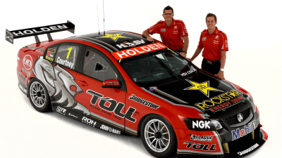 2011 Toll Holden Racing Team Livery Unveiled
