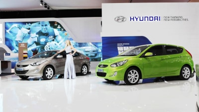 2012 Hyundai Elantra, i40, Accent And Veloster Debut In Melbourne