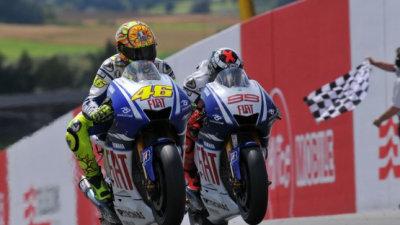 MotoGP: Rossi Wins German Thriller