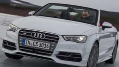 Audi S3 Cabriolet first drive review