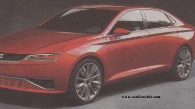 SEAT IBL Sedan Concept Surfaces Online Ahead Of Frankfurt