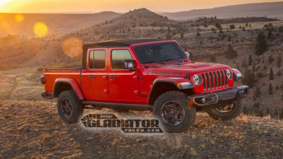 Jeep Gladiator ute leaks
