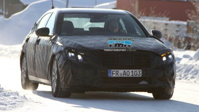 2012 Mercedes-Benz S-Class Spied Testing