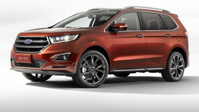 Ford Edge Gets Seven Seats For China, Australian Debut Remains Unclear