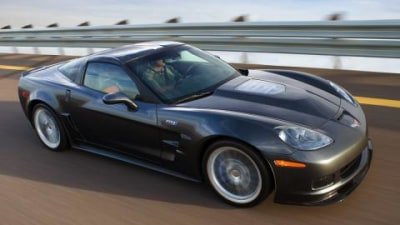Corvette ZR1 supercar officially announced