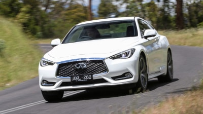 Infiniti Q60 Red Sport 2019 Coupe Review