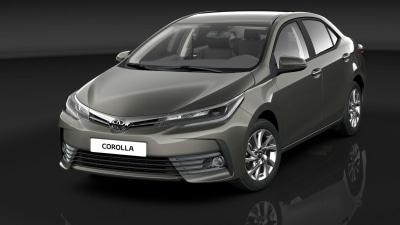 2017 Toyota Corolla Sedan Previewed - In Australia Early Next Year