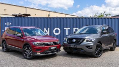 Volkswagen Tiguan Allspace v Nissan Pathfinder Head to Head Review
