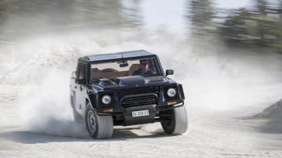 Remember Whendnesday: Lamborghini built an SUV