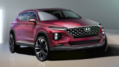 Hyundai reveals new Santa Fe