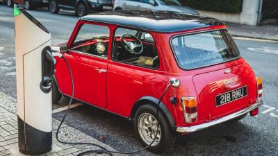 Classic Mini EV costs big money