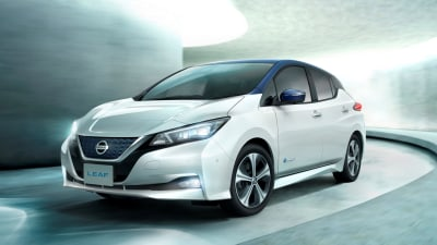 Nissan Leaf E-Plus confirmed