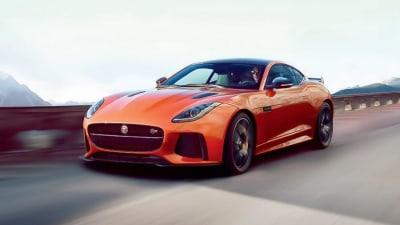 Jaguar F-Type SVR Makes Unscheduled Online Debut