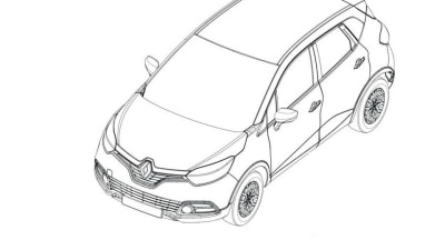 Renault Captur-Based Crossover Previewed By Leaked Tech Drawings