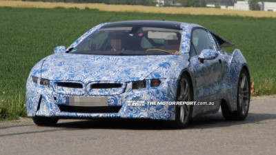 BMW i8 Sports Hybrid, i3 City EV Spied