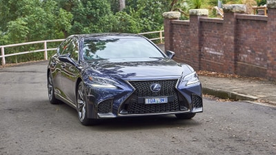 2020 Lexus LS500h F Sport review