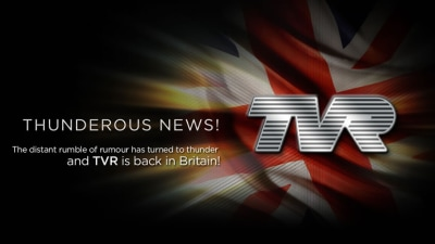 Official: TVR Is Back, Back In Britain