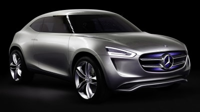 Mercedes G-Code Compact SUV Concept Revealed