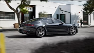 Porsche Lining Up Panamera Coupe: Reports