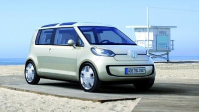 Volkswagens space up! blue concept