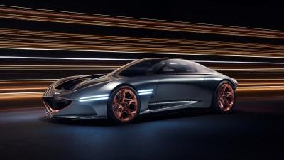 Genesis reveals electric sports car