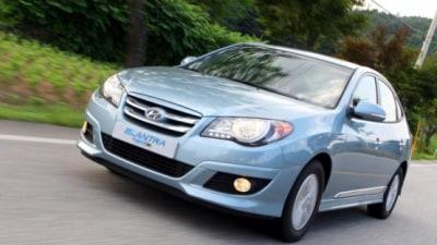 2009 Hyundai Elantra LPI Hybrid Launched In South Korea