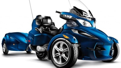 BRP Can-Am Spyder Line-Up Gets A Touring Model, Available Early 2010