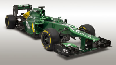 F1: Caterham Reveals CT03 Racer, Button Surprises, Hamilton Crashes