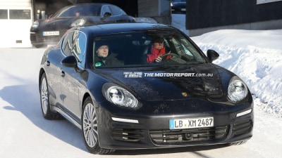 2013 Panamera Update Spied: New Tail-lights On Show In Snow