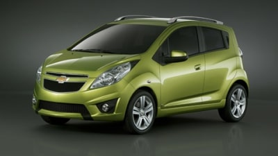 2010 Chevrolet Spark Revealed Ahead of Geneva Motor Show